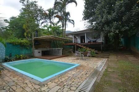 Casa Muro Verde Praia Maresias - São Sebastião