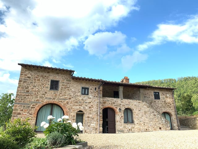 Pié Vecchia ,Villa+Fienile - Greve in Chianti