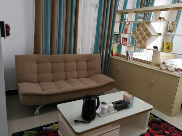 近洱海一室一厅双床温馨套房免费停车