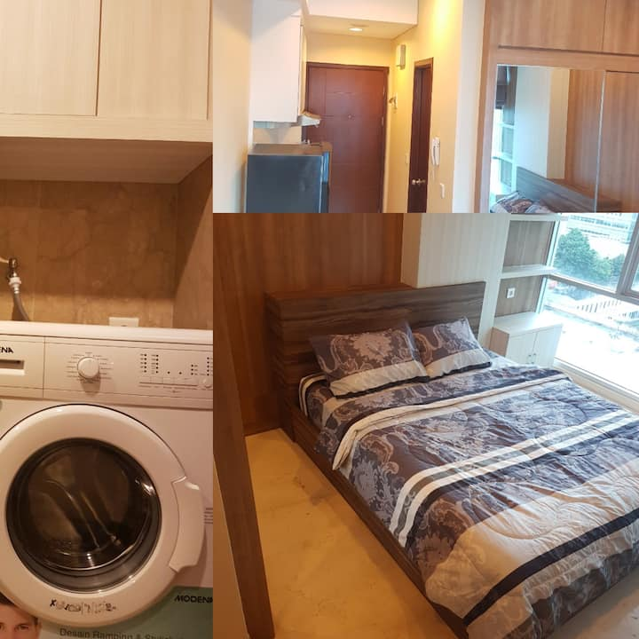 Homey studio apartment in the centre Jakarta,