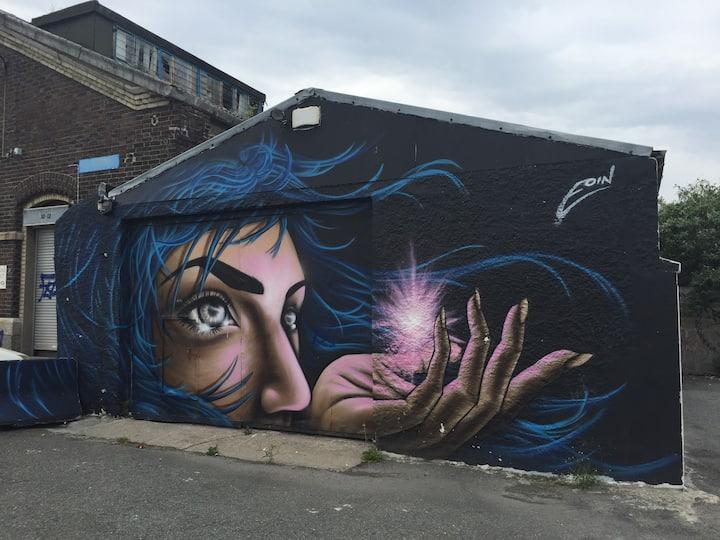 Street Art in the Docklands