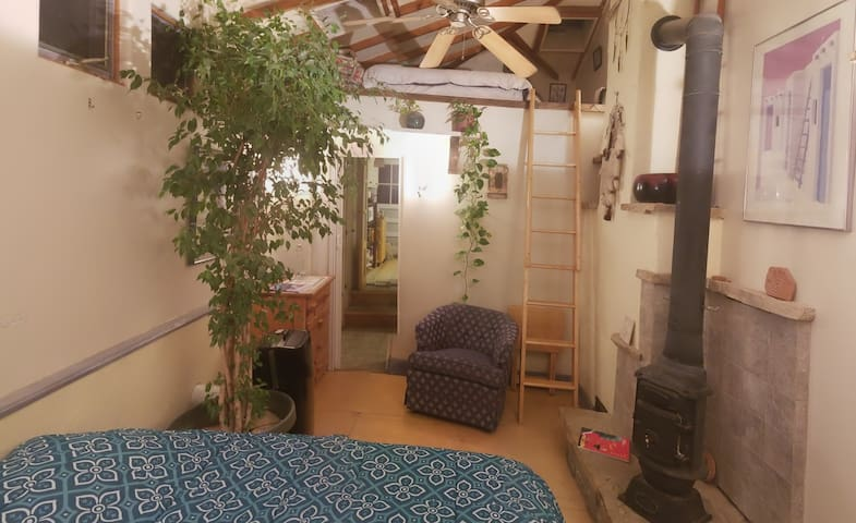 Room w/ Loft & Sky lights
