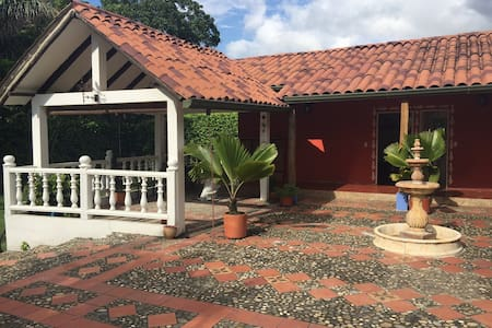 Beautiful full Villa with 4 rooms in Guaduas - Guaduas - Villa