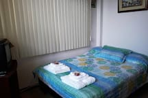 Bedroom 2: 1 Full bed and 1 single sofa bed. Sleeps 3
