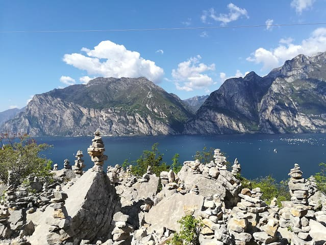 In Trentino: lakes, mountains and sports.