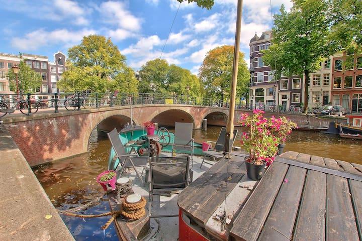 Canal bnb - Ámsterdam - Barco