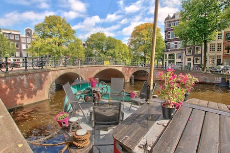 Canal bnb - Amsterdam - Boot