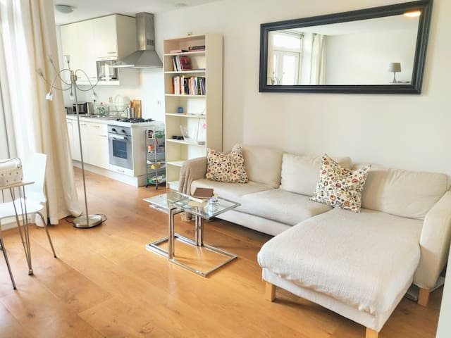 Light, cosy and quiet apartment in Westerpark area