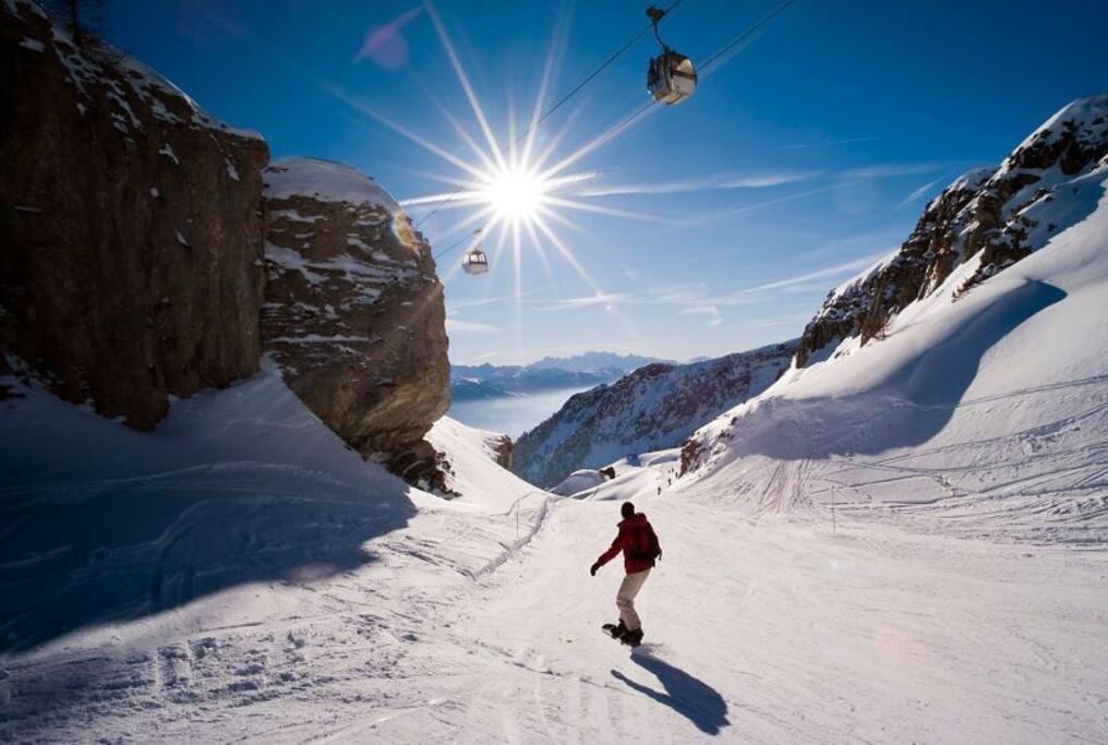 """The sunniest ski resort in Europe"""