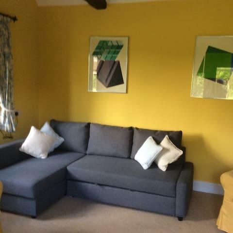 Sofa in living area