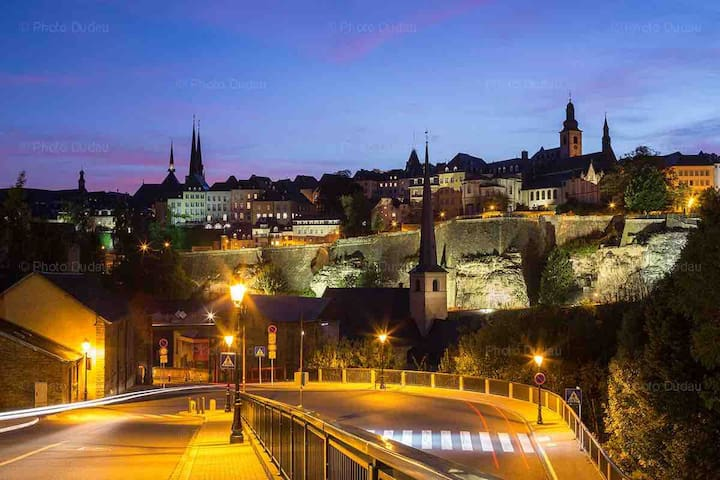 Nice Flat City Center LUXEMBOURG Limpertsberg