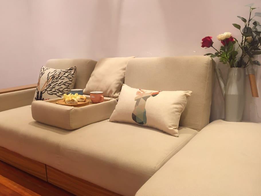 沙发小憩~
