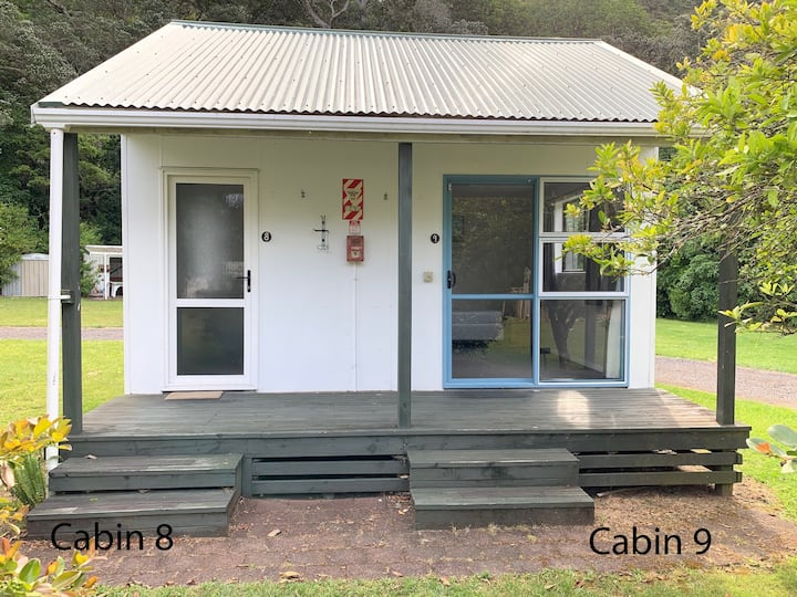 Wharekawa Lodge - Cabins 8 & 9
