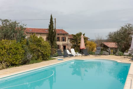 Traditional French  Farmhouse - La Bastide-de-Besplas - Andre