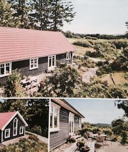Idylisk træhus i smukke omgivelser - Ans - Dům