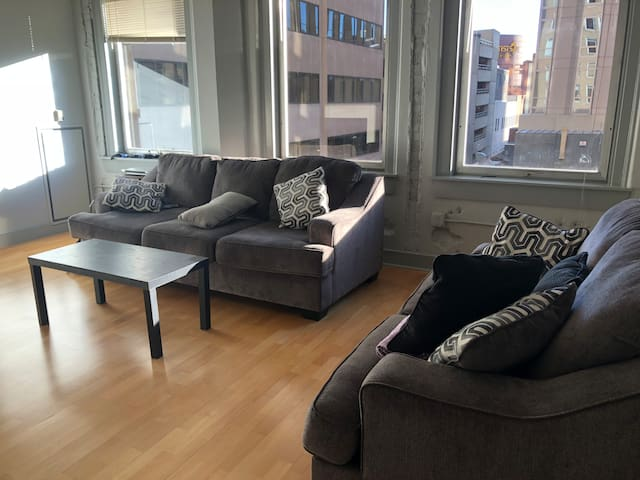 Living Room Loft in Downtown Denver. Best price