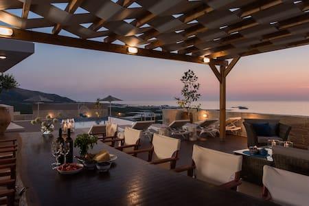 ELPIDA, beautiful new villa in Falasarna