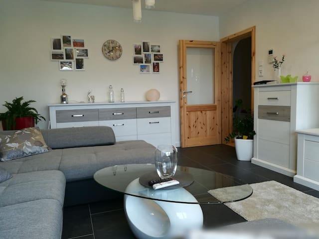 Ferienwohnung am Silberg, (Plettenberg), Ferienwohnung, ca. 75qm, 2 Schlafräume, max. 3 Personen