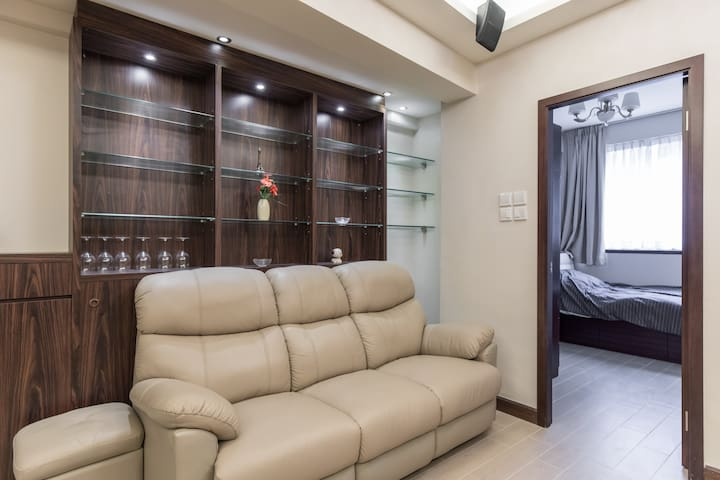 An apartment in the heart of city - HK  - Daire