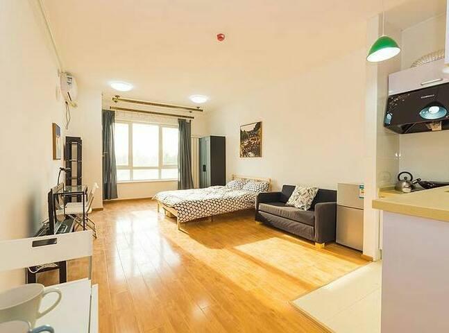 Cozy flat near subway, Ikea style - Beijing - Apartment