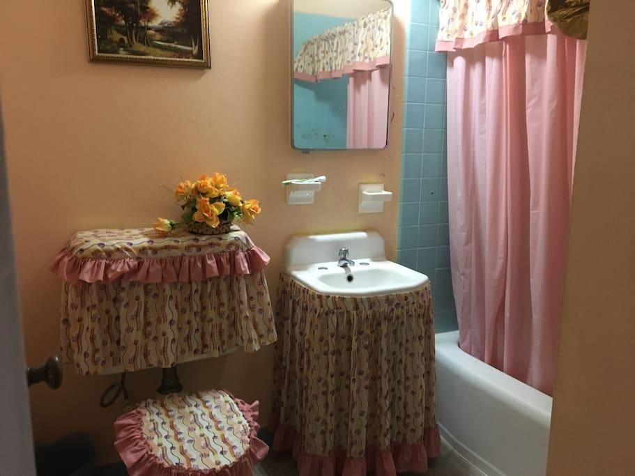 Baño principal (compartido)