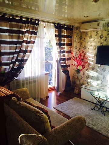 Downtown, quiet and comfortable apartment, 380 UAH - Dnipropetrovs'k - Apartment