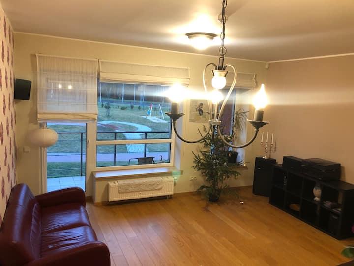 Elegant and spacious apartment in Santariskes