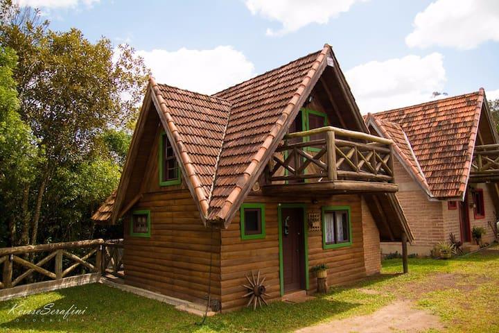 Cabana estilo Loft na Reserva do Paraíso