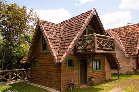 Cabana estilo Loft na Reserva do Paraíso - Osório - Bungalow