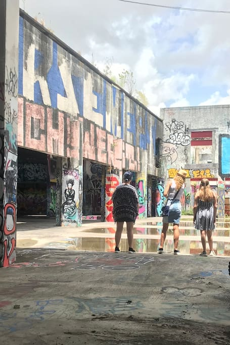 Graffiti History Tour with Miami's Best