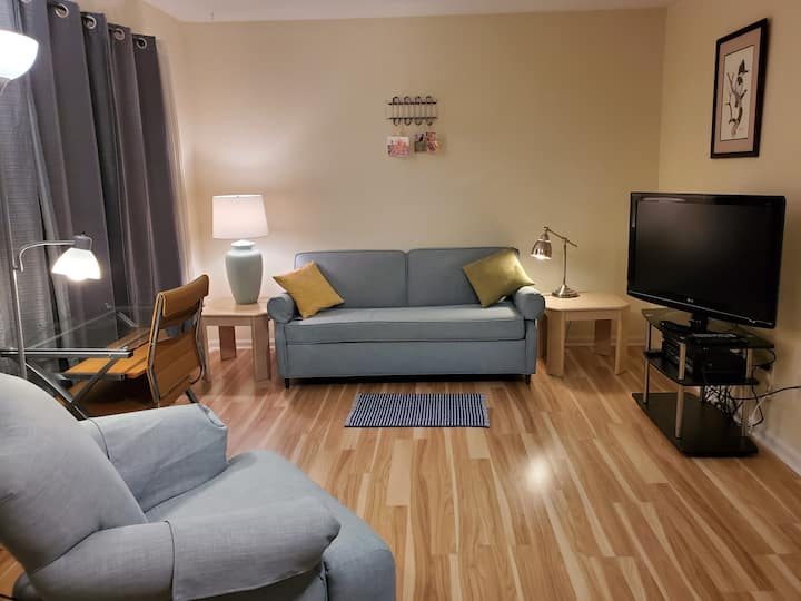 Lovely 1 BR Condo, Downtown Durham