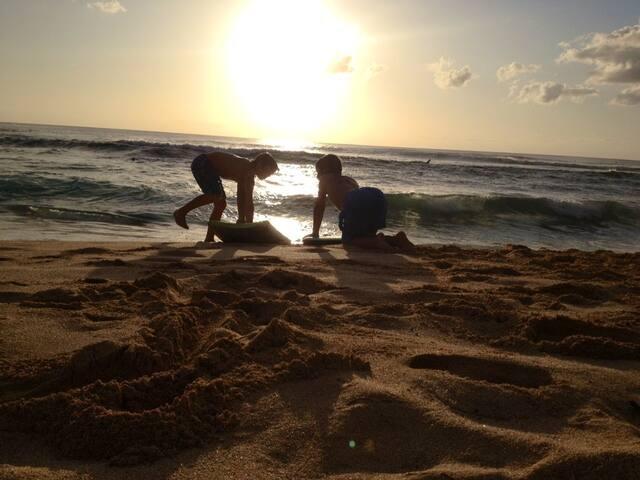 Beach Studio on Sunset Beach-World's best Surfing - Haleiwa - Pis