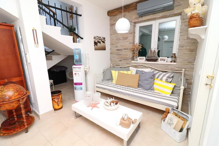 Apartments Trstenica-One Bedroom Apartment with Terrace