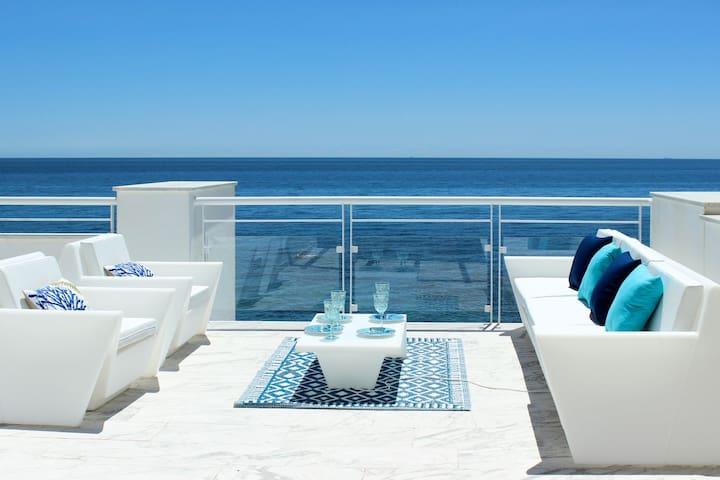 Stunning Beachfront Penthouse in Casares