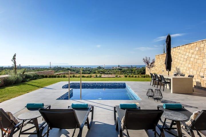 Caldera Hersonissos Villas, 3 BD, private pool