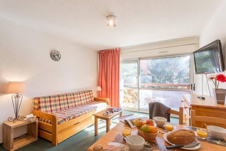 Studio 4 personnes avec emplacement idéal - Mont-de-Lans - Apartment