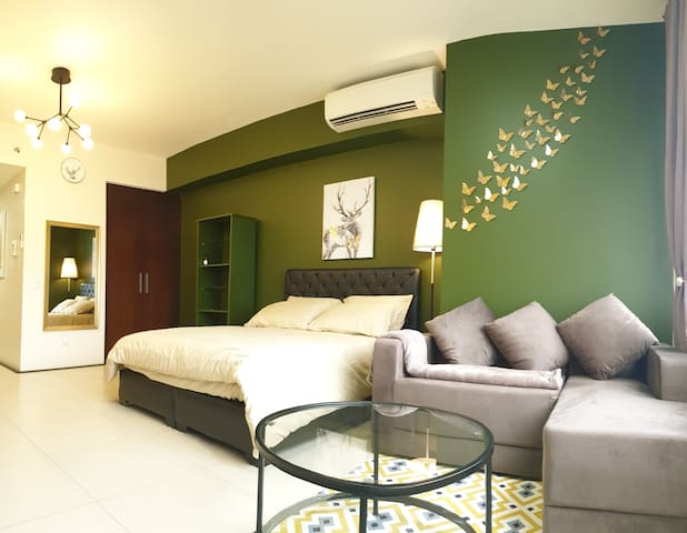 *NEW* Cozy Pad in Viridian Greenhills Nr V Mall
