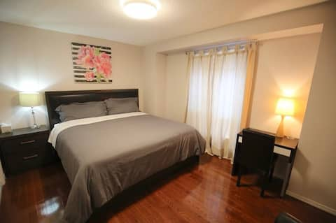 Two large private rooms in Mississauga Toronto