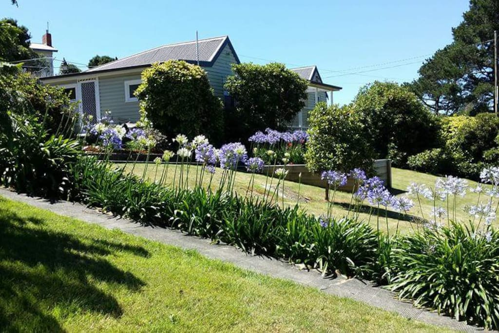 Cascade Cottage gardens help make your stay relaxing and enjoyable