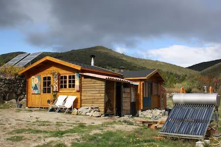 cabane 28m2 dans un site sauvage - Trévillach - 小木屋