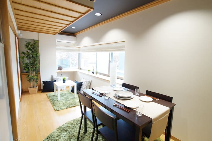 No add fee NEW TATAMI 5mins to Shinjuku Sta /wifi - Shibuya-ku - Apartment