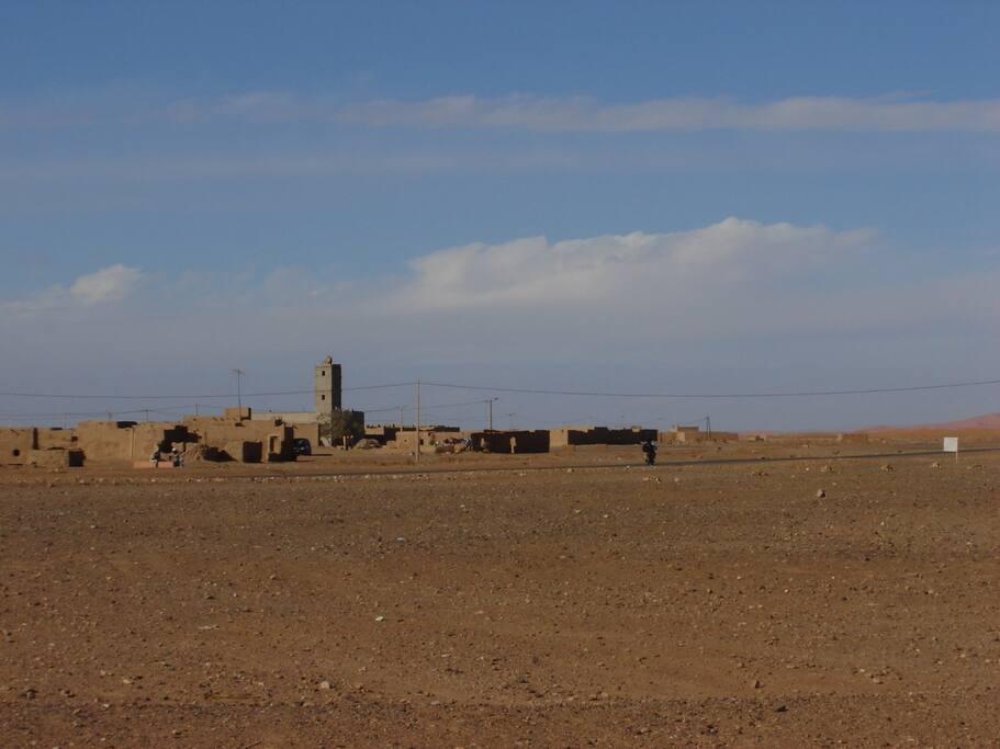 Khamlia. from the Dunes.