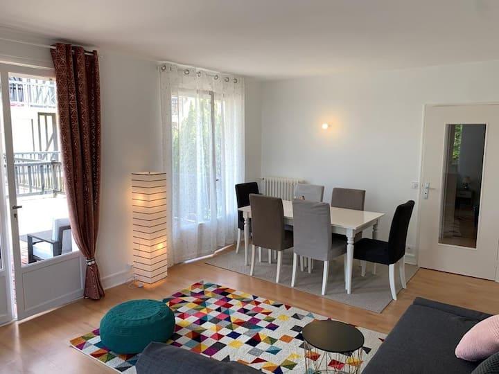 Appartement 2p cosy sur deauville