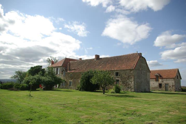 Ancienne Ferme Bourbonnaise - Louroux-de-Bouble - Haus