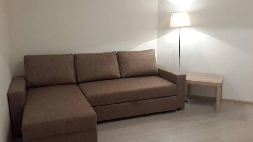Новая 1-к кв. с дизайнерским ремонтом в Одинцово - Odintsovo - Apartamento