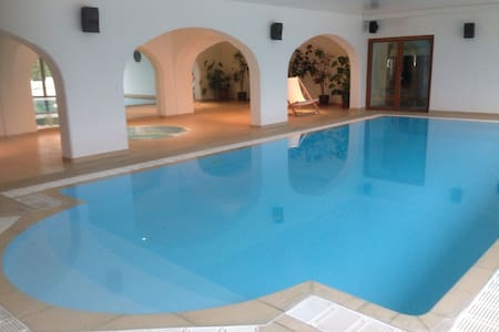 Pips Lodge and Spa with indoor heated pool - Alkham - Domek parterowy