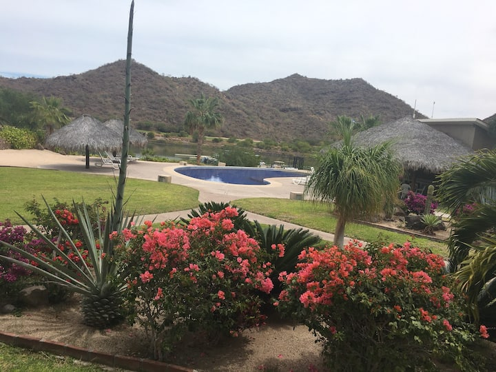 1400 sq ft beautiful condo @ punta nopolo loreto
