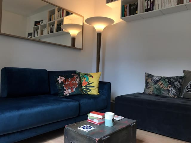 Cozy one-roomed 30 m2 flat in the heart of Paris