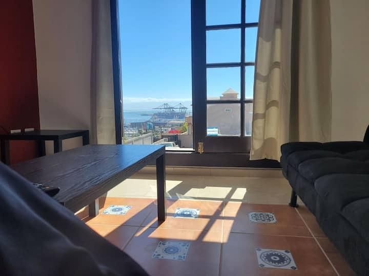 3BR w/Iconic Ensenada View steps from Ruiz&Primera