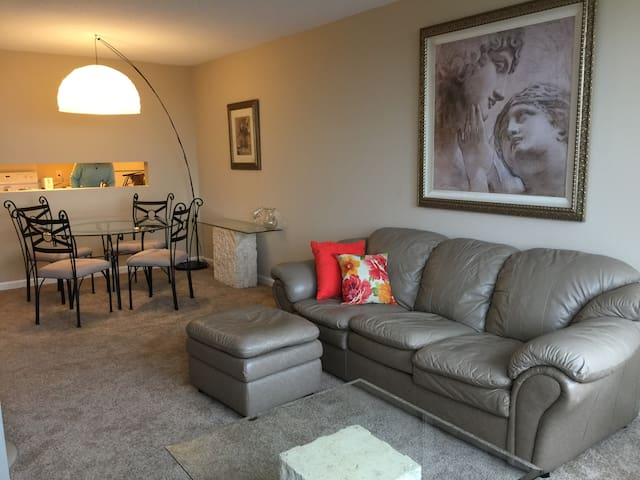 1bdrm Super Bowl condo in downtn St Paul sleeps 4+